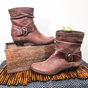 PIKOLINOS Shoes - PIKOLINOS BOOTIES BOOTS ANKLE 39 LEATHER BROWN 9